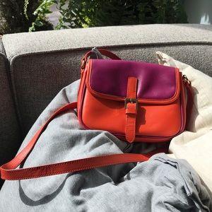 Cynthia Rowley Leather Crossbody Purse